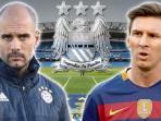 Alasan Pep Guardiola Bungkam Soal Peluang Transfer Lionel Messi ke Manchester City