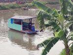 Takut Disuruh Putar Balik, Pemudik dari Riau Pulang Kampung Lewat Sungai, Apes Perahunya Terbalik