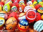 Demonstran Myanmar Jadikan Telur Paskah Simbol Pembangkangan Sipil