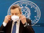 PM Italia Mario Draghi dan Istri Terima Dosis Pertama Vaksin Covid-19 dari AstraZeneca