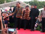 Jokowi Resmikan Proyek Rumah DP 1 Persen di Kalimantan Timur