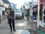 Aparat Kepolisian Jaga Permukiman Warga Cipinang Cempedak Antisipasi Tawuran Susulan