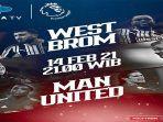 Liver Streaming Mola TV West Brom vs Manchester United Liga Inggris: Peluang Setan Merah Tergelincir