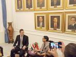 Menteri Perdagangan Hungaria Temui Menlu RI Bahas Kerjasama Investasi Air Bersih dan Rumah Sakit