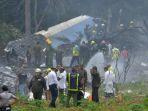 Tiga Dari 104 Penumpang Berhasil Diselamatkan Dalam Kecelakaan Pesawat Kuba
