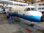 Pesawat N250 Gatot Kaca Rancangan BJ Habibie akan Dipajang di Museum Dirgantara Jogja