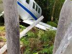 Pesawat Bawa Bansos Tergelincir Hingga Keluar Landasan di Papua, Pilot Terluka