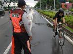 Dishub DKI Terus Matangkan Pembuatan Jalur Sepeda Permanen di Jalan Sudirman-Thamrin