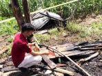 Diduga Kesepian Ditinggal Mati Kedua Orangtua, Pria di Humbahas Nekat Bakar Rumahnya Sendiri