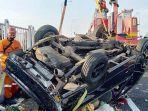 Mobil Pengangkut Sayur Ditabrak dari Belakang, 1 Orang Tewas di Lokasi, Penabrak Langsung Tancap Gas