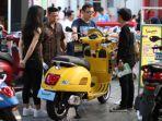 Di Jakarta Fair 2019, Piaggio Tawarkan Paket Harga Aksesoris Istimewa