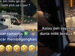 Cerita Cewek yang Tak Malu Dijemput Pacar Pakai Mobil Pick Up: Pacaran Itu Enggak Harus Mewah