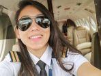Pilot Cantik Ini Kecelakaan, Mobil Terbakar Tinggal Rangka, Begini Kondisinya