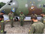 TNI AU Kirim Boeing 737 Siagakan Alutsista di Makassar untuk Bantu Penanganan Gempa Sulawesi Barat