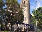 Perketat Kemanan, Gereja Katedral Jakarta Terapkan Sistem Satu Pintu Untuk Akses Keluar Masuk Jemaat