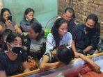 Pilu, Istri Korban Penembakan Oknum Polisi di Cengkareng, Hamil Muda Suami Meninggal