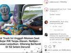 Polda Jatim Berikan Komentar soal Video Viral Kejar-kejaran Truk dengan Mobil Patroli di dalam Tol