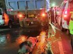 Gadis 16 Tahun Salip Tronton, Malah Dihantam Dump Truck Arah Berlawanan hingga Terlindas Tronton
