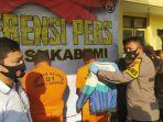 Berandalan Bermotor di Sukabumi Menangis Saat Digelandang Polisi