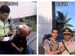 VIRAL Video Bocah Merengek Kena Tilang Kini Jadi Polisi, Ternyata si Remaja dan Pemuda Orang Berbeda