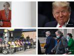 POPULER Internasional: Cerita saat Tangan Theresa May Digenggam Donald Trump | Temuan WHO di Wuhan