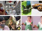 POPULER Internasional: Kura-kura Tinggal Kerangka | AstraZeneca Hentikan Sementara Uji Coba Vaksin