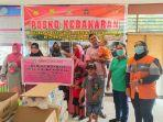 Kebakaran di APO Kali Jayapura Utara, DrW Skincare Beri Bantuan