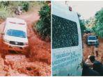 Kisah Petugas Kesehatan di Solok Selatan, Lewati Jalan Berlumpur untuk Lakukan Vaksinasi Covid-19