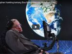 Sebelum Meninggal, Stephen Hawking Ramalkan Kiamat Akan Datang 100 Tahun ke Depan