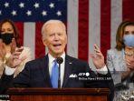 6 Poin Pidato Pertama Joe Biden di Kongres AS, Bahas Rencana Pemulihan Ekonomi hingga Imigrasi