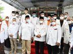 Presiden PKS Sambangi Ketua Umum Gerindra Prabowo Subianto
