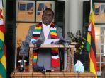 Zimbabwe Perpanjang Lockdown, Presiden Emmerson: Keputusan Sulit