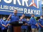 Ini Reaksi AHY Saat Ditanya Munculnya Desakan Minta Maaf kepada Jokowi