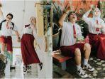VIRAL Prewed Konsep Pakai Seragam SD di Sidoarjo, Nostalgia Tempat Pertama Jumpa