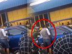 Video Pria Kekar Tampar Wanita Gara-gara Mengklakson Mobil Parkir Sembarangan, Begini Endingnya