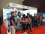 Accura Trax Kenalkan Sarung Jok Motor Anti Panas di Telkomsel IIMS 2019
