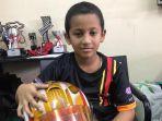 Qarrar Firhand Ali Raih 'Most Overtake in Kadet Class' di Kejurnas Gokart 2019