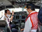 Menhub Tinjau Ramp Check Pesawat di Bandara Soekarno-Hatta