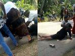 Rayakan Lebaran, Wanita Alami Nasib Malang akibat Baju yang Terlilit Rantai Motor