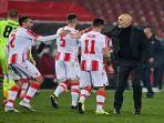 Reaksi Penyesalan Stefano Pioli Usai AC Milan Gagal Amankan Kemenangan di Leg Pertama
