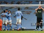 HASIL Manchester City vs Tottenham Liga Inggris, The Citizens Unggul 1-0 di Babak Pertama