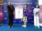 Kampanye Ungkapan Hati Melalui Sosial Media dengan Peserta Terbanyak, Cadbury Pecahkan Rekor MURI