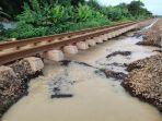 Foto-foto Penampakan Rel Menggantung di Petak Antara Stasiun Kedunggedeh dan Lemah Abang