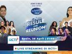 Result Show Indonesian Idol Spesial Season Malam Ini Jadi Reuni Para Musisi