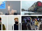 POPULER Internasional: Roket China Meluncur Tak Terkendali | Pejabat India Bantah Kekurangan Oksigen
