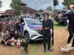Viral Video Rombongan Teman SMP Bawa Kambing, Ayam, hingga Sembako untuk Pengantin, Begini Ceritanya
