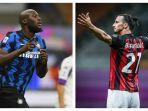 Prediksi Inter Milan vs AC Milan Liga Italia, Duel Tajam eks Manchester United, Lukaku & Ibrahimovic