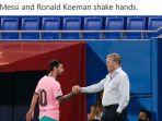 Hasil Liga Spanyol: Kekalahan Barcelona Diwarnai Insiden Hinaan Pemain Getafe Kepada Ronald Koeman