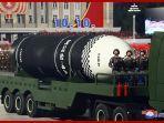 Korea Utara Tembakkan 2 Rudal Balistik, Beberapa Hari Setelah AS-Korea Selatan Latihan Militer