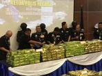 BNN Malaysia Amankan 500 Kilogram Sabu di Pulau Pinang, Diduga akan Diekspor ke Indonesia
